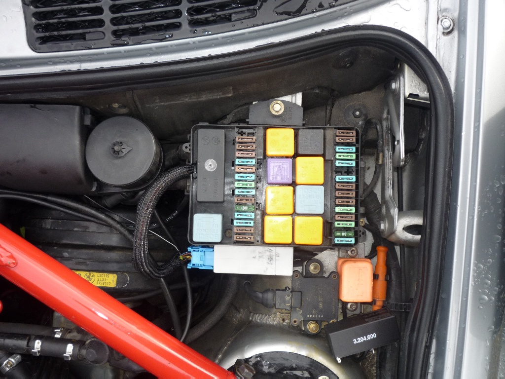 cx500 remove fuse box e30